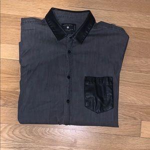 Zara Man long sleeve button up